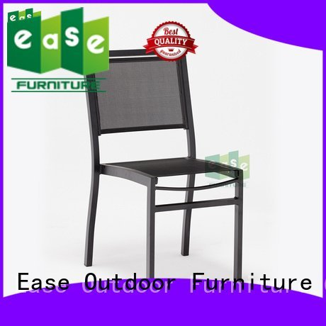 EASE outdoor folding bistro chairs french commercial mesh