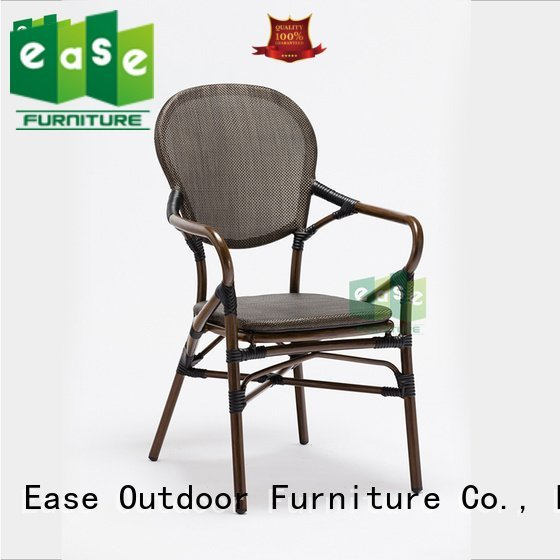 lounge woven powder outdoor bistro table and chairs EASE