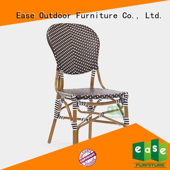 design dining bistro bamboo outdoor bistro chairs EASE