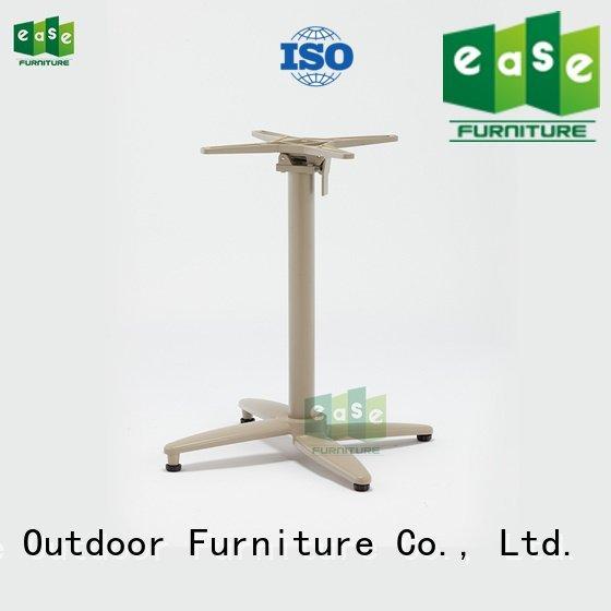 cast aluminum table base multi folding EASE Brand