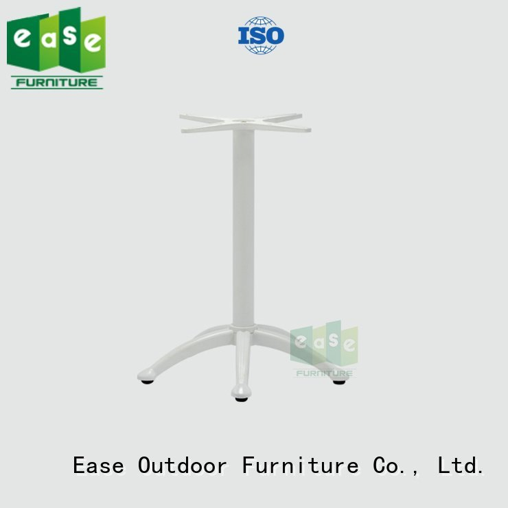 cast aluminum table base outdoor aluminum table legs EASE