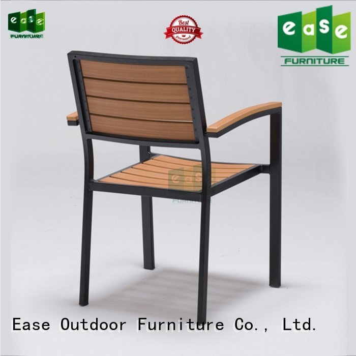 stackable aluminum patio chairs outdoor EASE Brand patio dining chairs