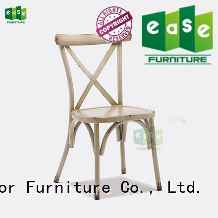 cross vintage EASE industrial garden chairs