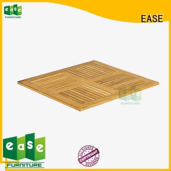 EASE Brand wood teak wood table top top square
