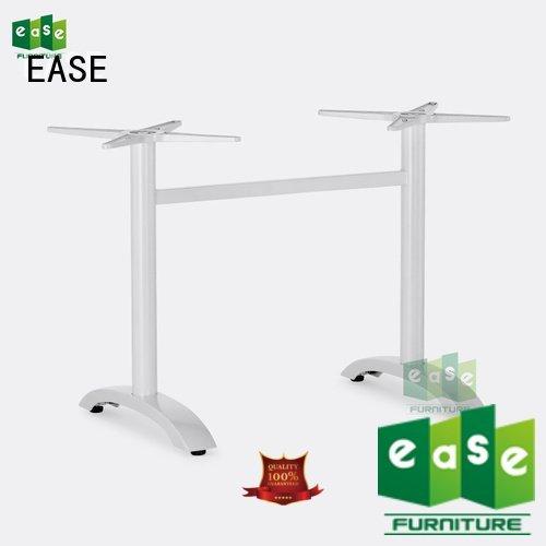 cast aluminum table base silver dining aluminum table legs EASE Brand