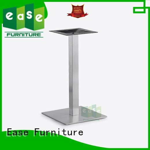 EASE Brand finish stainless steel dining table base table brushed