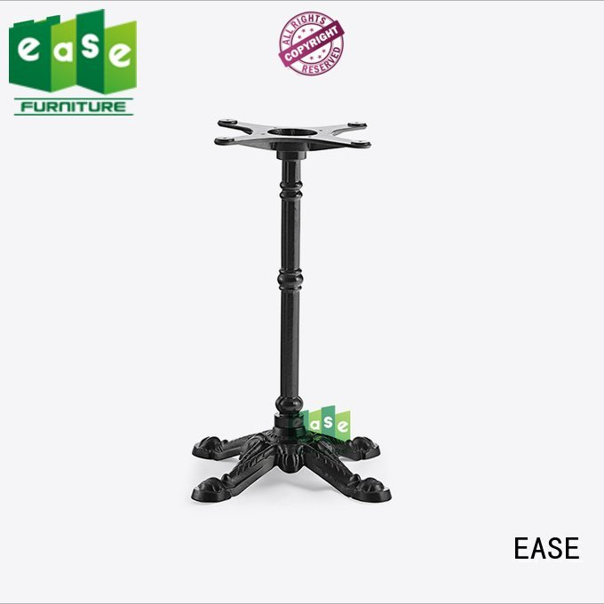 EASE iron table legs for sale heavy table french black