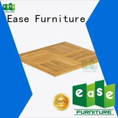 EASE Brand 70cm natural teak wood table top