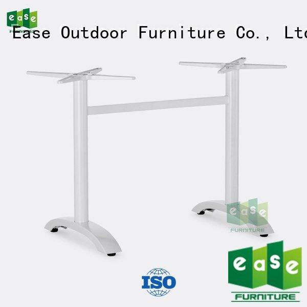 EASE Brand duty folding aluminum cast aluminum table base