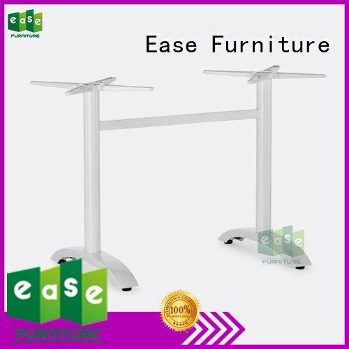 cast aluminum table base white modern parts quality EASE