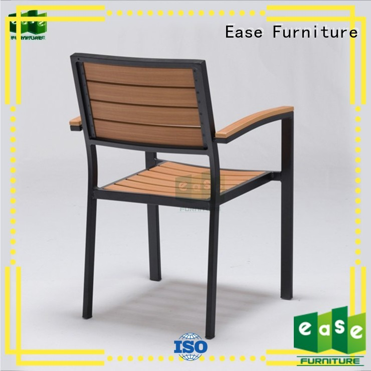 EASE Brand chair frame patio dining chairs manufacture