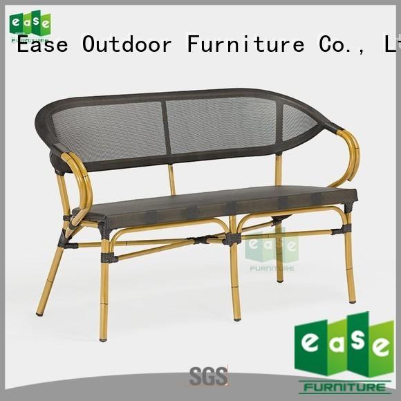 fabric mesh aluminum bamboo sofa outdoor EASE Brand