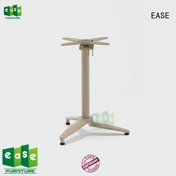 EASE Brand double black heavy aluminum table legs surface