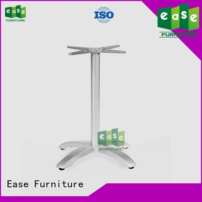 EASE Brand black waterproof aluminum table legs nails modern