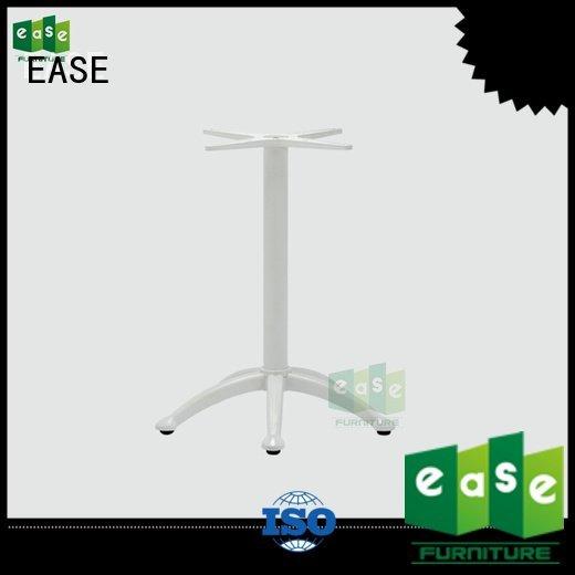 cast aluminum table base black aluminum table legs polished EASE