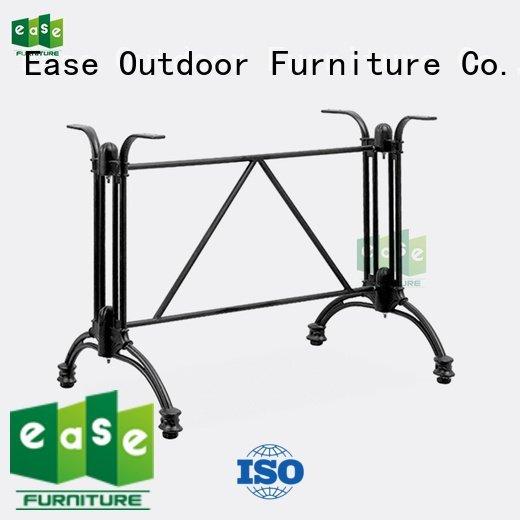 cast aluminum table base stackable legs OEM aluminum table legs EASE