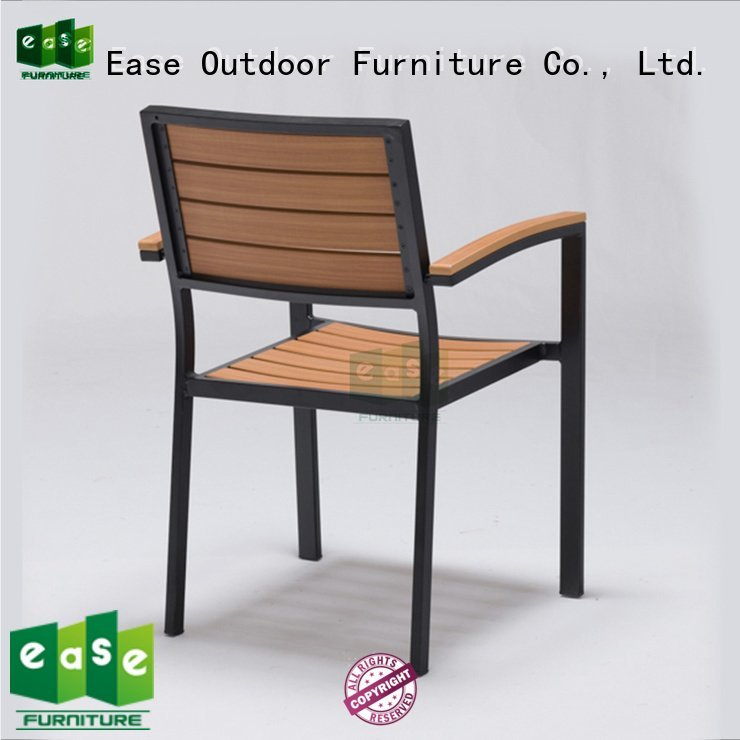 EASE stackable aluminum patio chairs chair frame outdoor patio