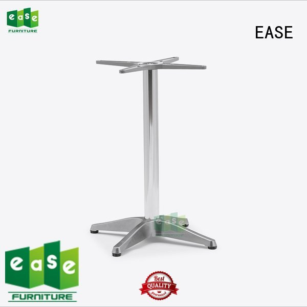 EASE Brand adjustable shop cast aluminum table base waterproof foot