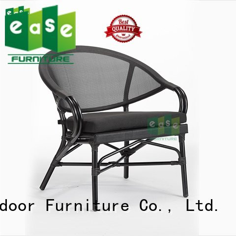 Hot outdoor folding bistro chairs pvc outdoor bistro table and chairs polyester EASE
