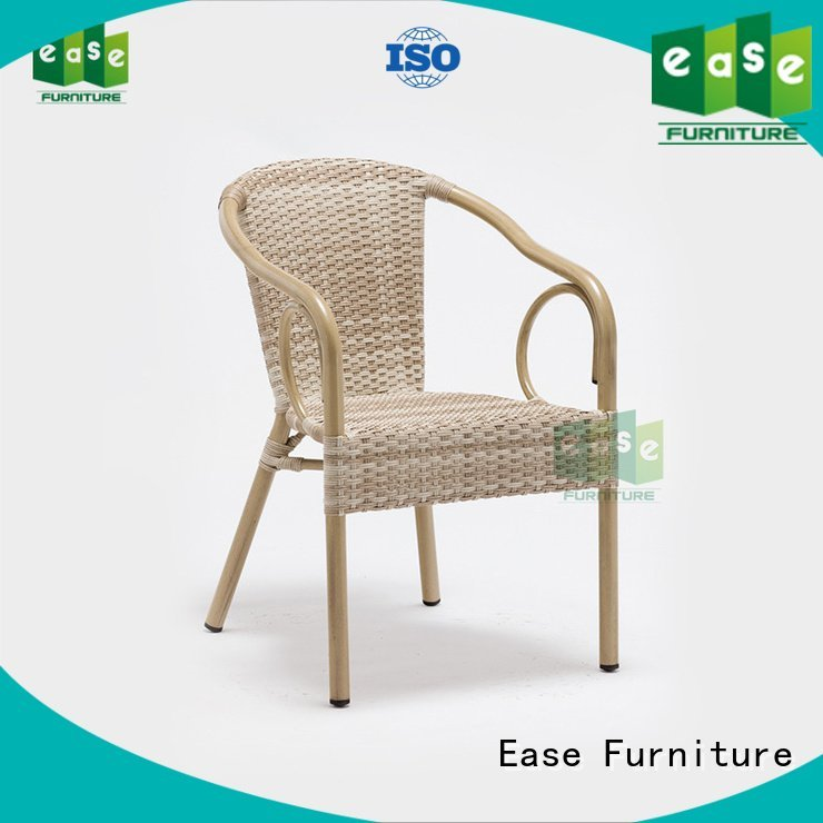 chair armless rattan bistro chairs plastic EASE
