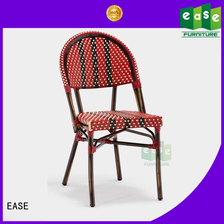 bistro armchair color bamboo outdoor bistro chairs EASE Brand