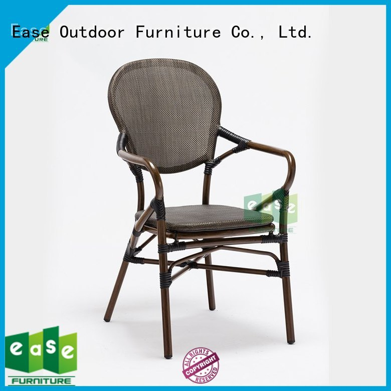 powder natural chair outdoor bistro table and chairs mesh EASE Brand