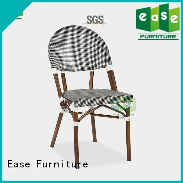 Quality outdoor folding bistro chairs EASE Brand wood outdoor bistro table and chairs