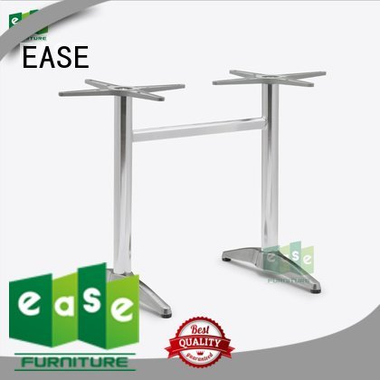 cast aluminum table base foot polished aluminum table legs EASE Warranty