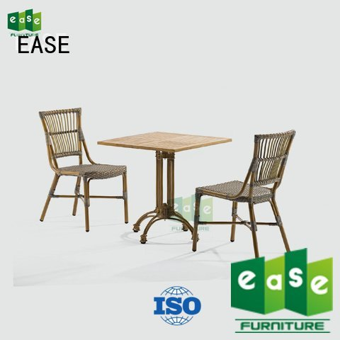 EASE aluminum patio table and chairs aaron sale open patio