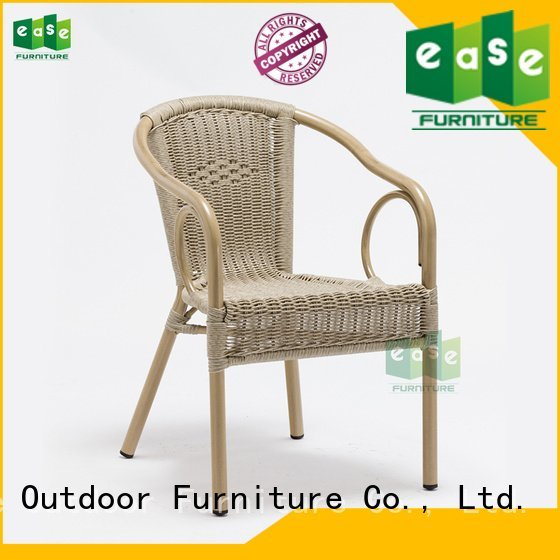 garden all aluminum wicker chairs e3016 EASE