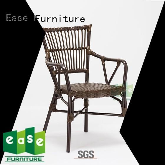 Hot aluminum wicker chairs garden EASE Brand