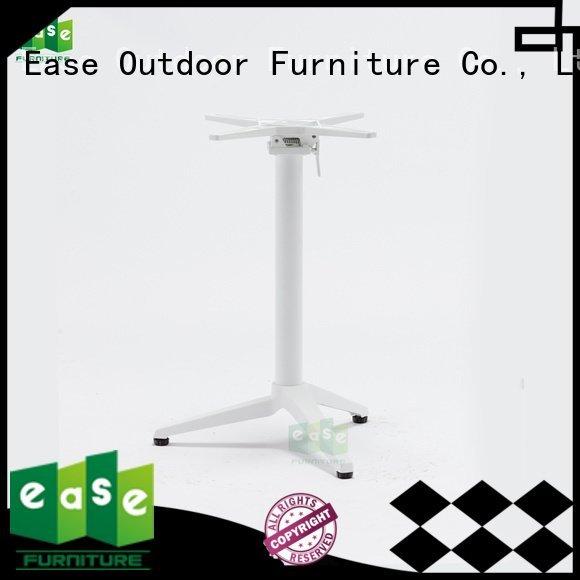 Hot cast aluminum table base quality table duty EASE Brand