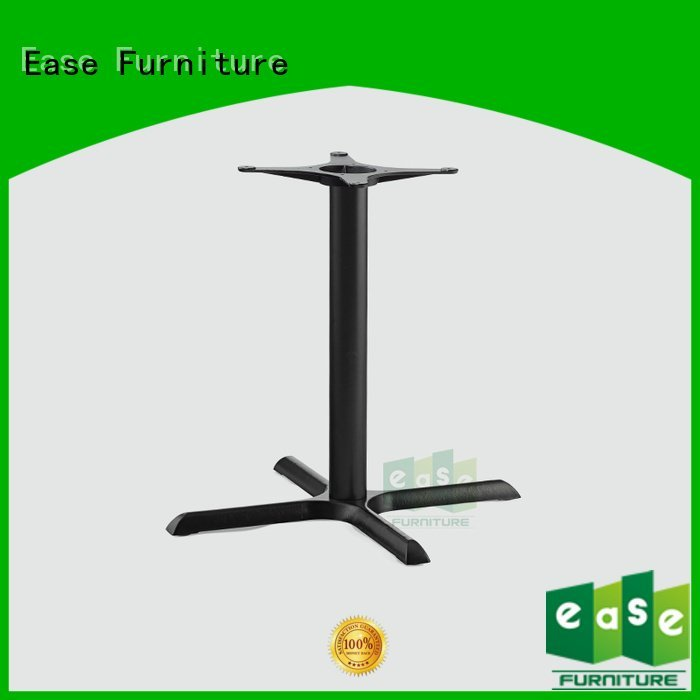EASE Brand wrought bistro cast iron table base duty