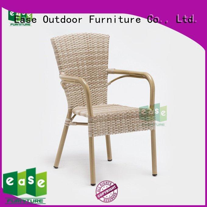 rattan cafe chairs design garden EASE Brand