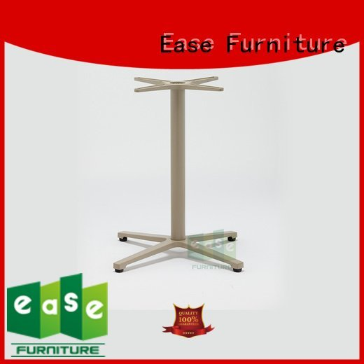 OEM cast aluminum table base base multi stackable aluminum table legs