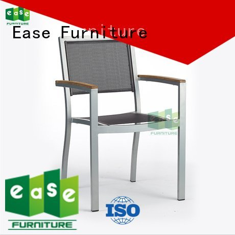 look outdoor bistro table and chairs side fabric EASE