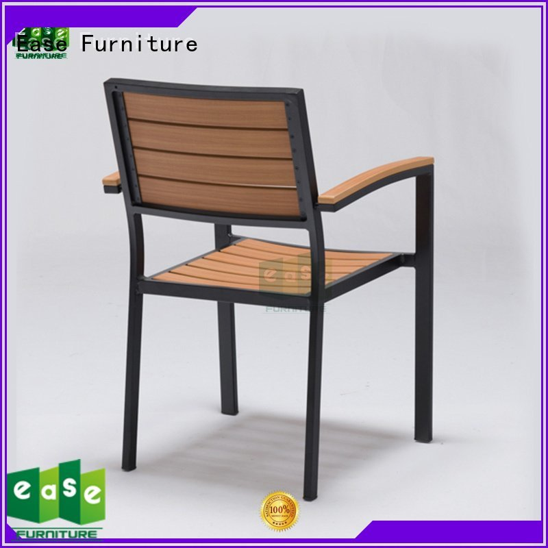 EASE aluminum chair polywood stackable aluminum patio chairs patio
