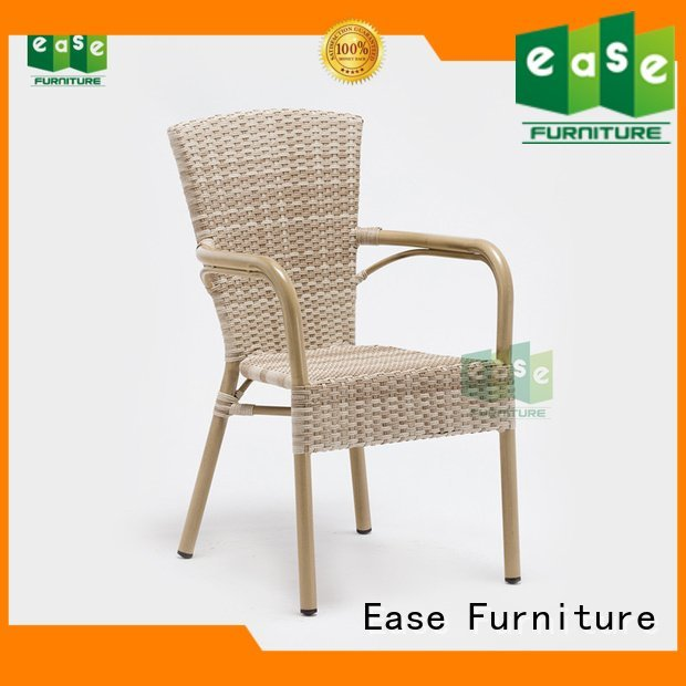 EASE side rattan bistro chairs dining rattan