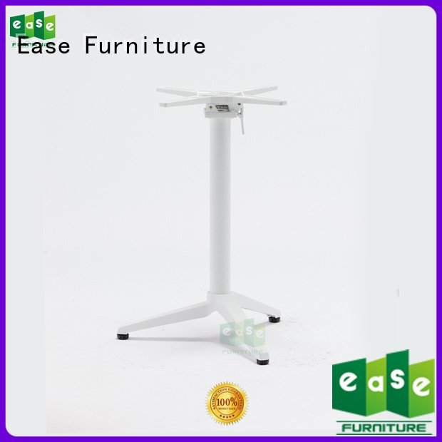 Hot cast aluminum table base white nails matte EASE Brand