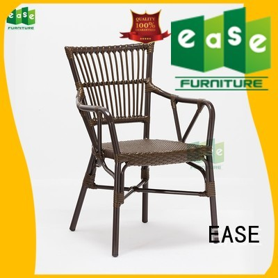 wicker chair all aluminum wicker chairs EASE Brand company