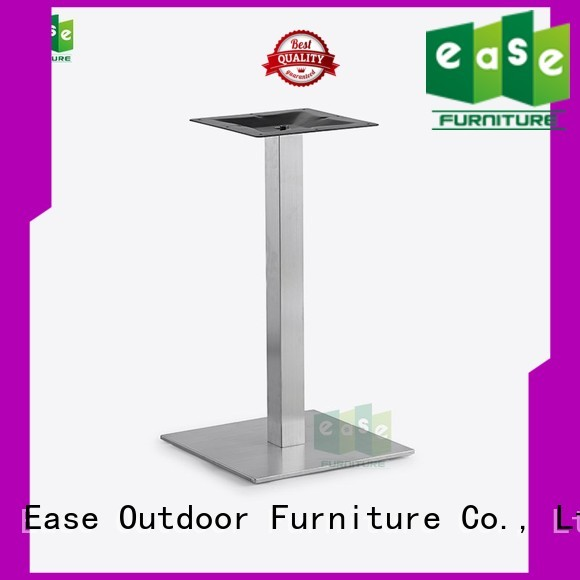 stainless steel dining table base finish table stainless steel legs steel EASE Brand
