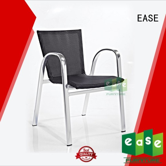 EASE Brand french stacking outdoor bistro table and chairs manufacture