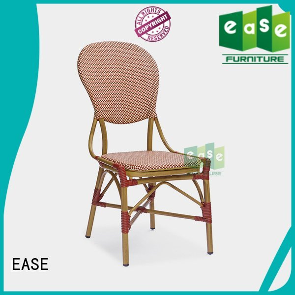 EASE Brand natural frame weave outdoor bistro table and chairs