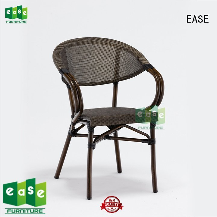 outdoor folding bistro chairs italian dining OEM outdoor bistro table and chairs EASE