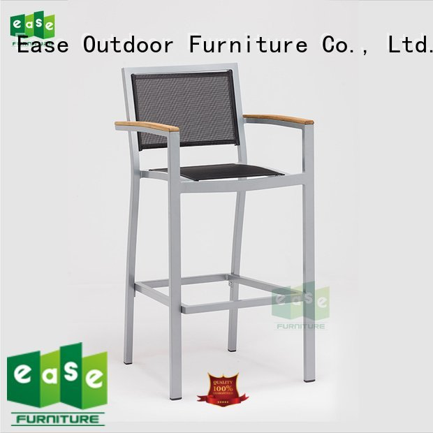 mesh stool aluminum outdoor EASE aluminum bar stools