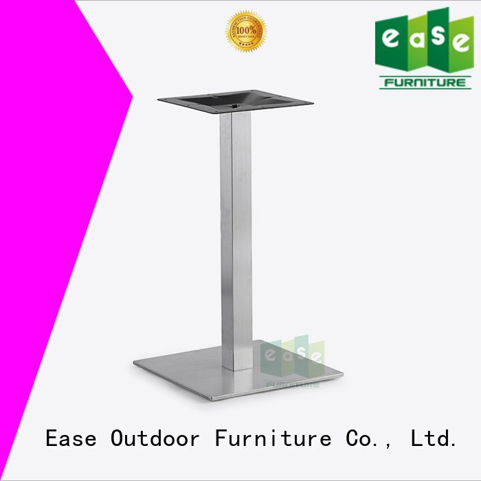 stainless steel dining table base steel EASE Brand stainless steel legs