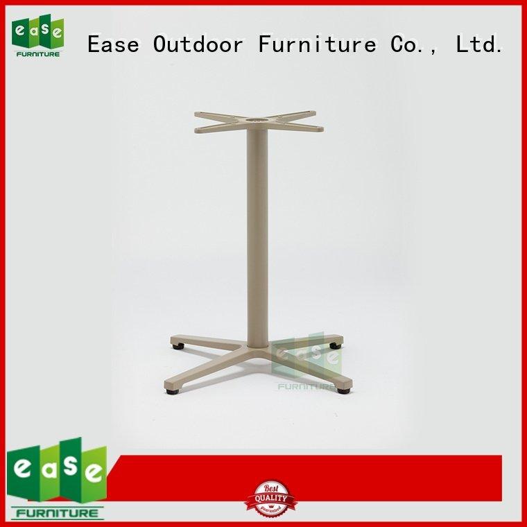 Hot cast aluminum table base white aluminum table legs style EASE