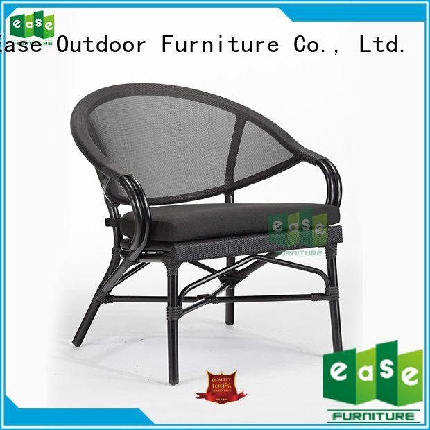 EASE outdoor folding bistro chairs fabric italian polyester
