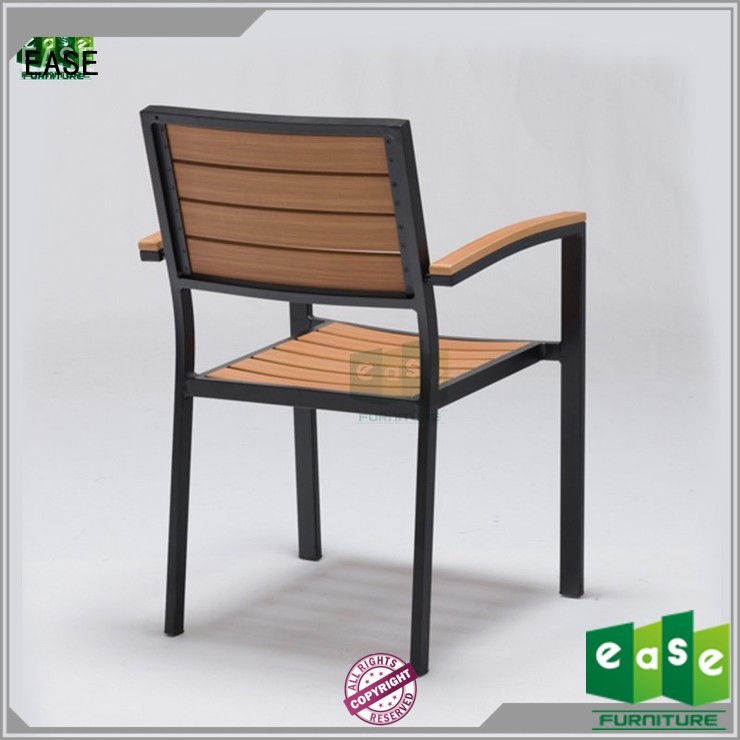 patio frame aluminum stackable aluminum patio chairs EASE manufacture