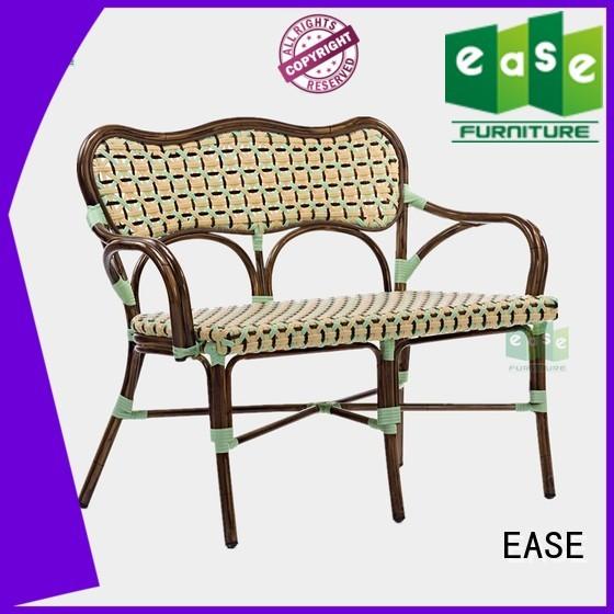 bistro frame sofa mesh EASE Brand bamboo sofa supplier